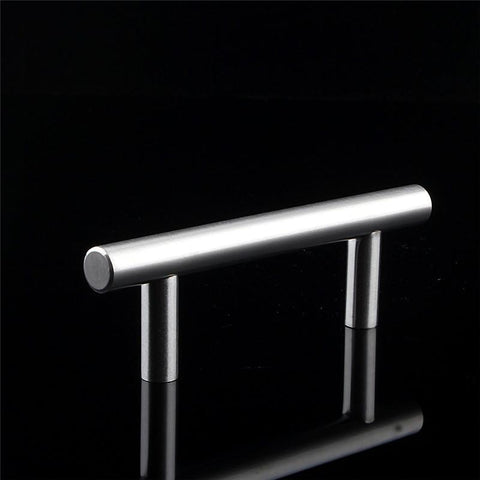 Furniture Fittings Orange Crystal Glass Clear Cupboard Door / Drawer Knobs Crystal Pull Door Handle 30Mm Kitchen Drawer