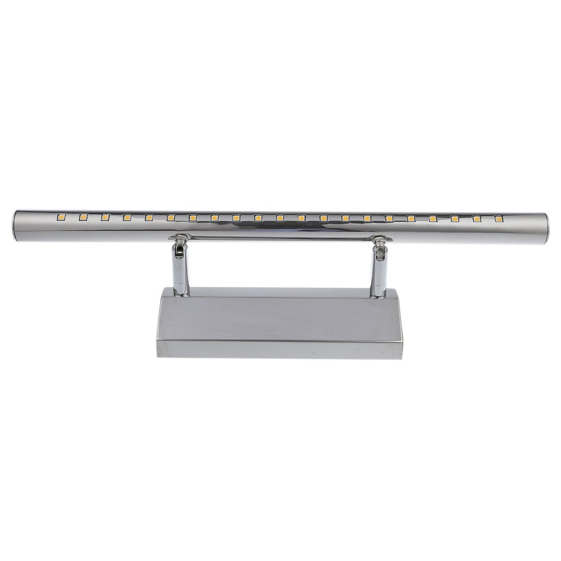 $20.66- 5W 21 LED 5050 SMD Stainless Steel Mirror Light Wall Lamp Bath Lamp Warm White Light