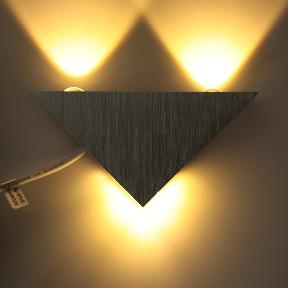 $31.50- 3W 85265V AC Modern Simple Aluminum LED Wall Light Lamp Indoor Bedroom Hallway Kitchen for Home Decor and Lighting