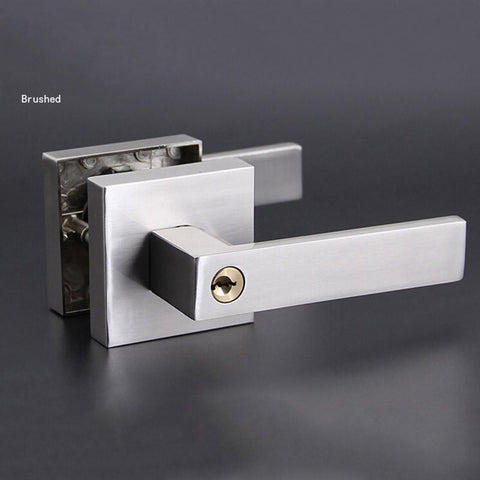 $120.73- Single Bolt Lock Room Door Handles Interior Lock W/ 3Pcs Brass Keys 3 Colors Hm98