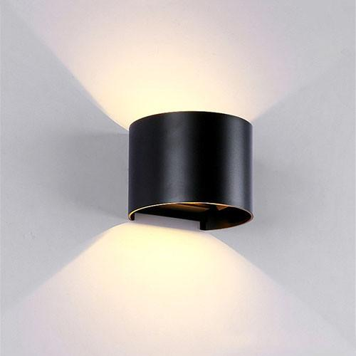 $48.06- Tanbaby Waterproof Outdoor Led Wall Light 6W 12W Cob High Brightness Up Downlight Wall Sconce Lighting Fixture Indoor Decor