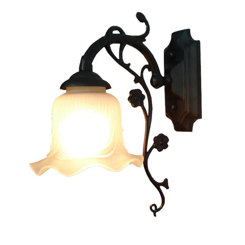 $89.98- A1 European Style Goodlook Wall Lamp Mirror Bedside Iron Lamp Simple Mediterranean Pastoral Lighting Special Offer