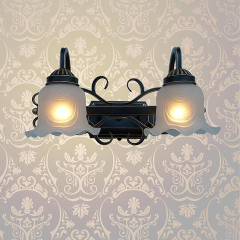 $139.38- A1 European Indoor Iron Wall Lamp Living Room Lamps Lens Headlight Corridor