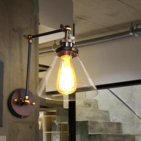 Industrial Pendant Lamp Loft Vintage Lamp Personality Balcony Wrought Iron Commercial Lighting Edison Ceiling Pendant Holder
