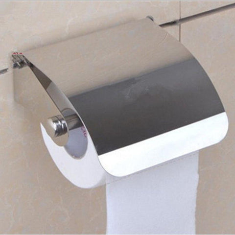 Modern Bathroom Accessories Black Painting Surface Brass Toilet Paper Holder Paper Box Wall Mounted