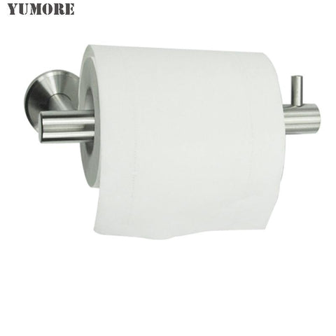 $39.24- Sus304 Stainless Steel Wall Mount Bathroom Kitchen Tissue Holder Decorative Toilet Paper Holder