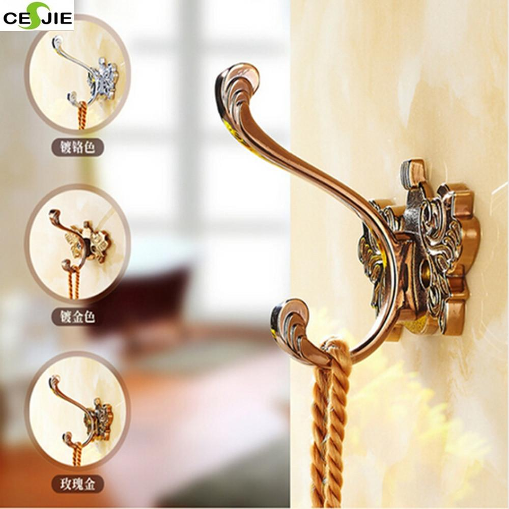 Buy Bathroom Accessories Flower Carved Bathroom Hooks
