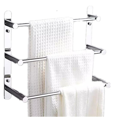 $63.47- Modern 304 Stainless Steel Towel Ladder Modern Towel Rack Bathroom Products Wall Mounted Bathroom Accessories 38/48/58
