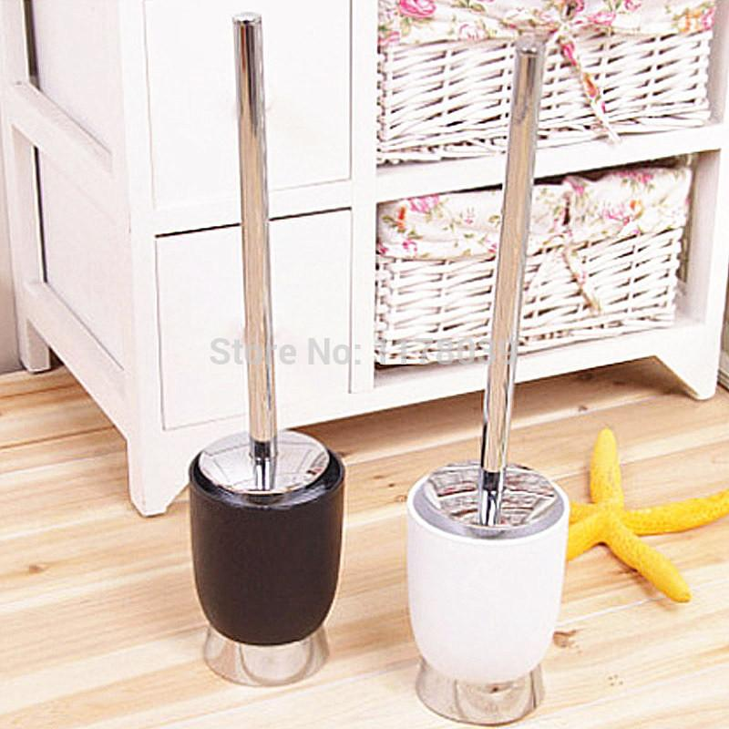 $36.97- Abs Toilet Brush HolderStainless Steel Toilet Cleaning BrushBathroom FloorStanding Toilet Brush W/ Bottom BaseJ16198