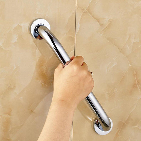 $44.37- Shower Armrest Concealed Screws Balance Assist Bath Grip Grab Bar Bathroom Brass Safety Bathtub Handrail Grab Bar