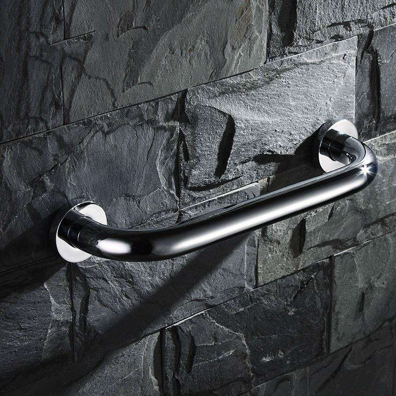 $34.20- 37Cm Bathroom Safety Bathtub Handrail Grab Bar W/ Concealed Screws Chrome 11234A