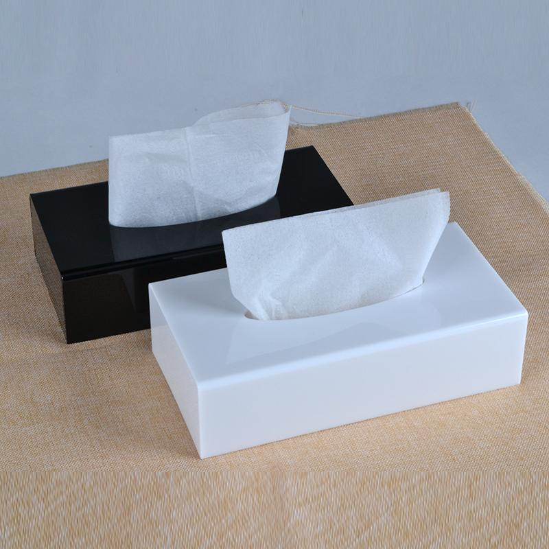 Modern Acrylic Tissue Box Tissue Holder Tissue Dispenser Tb005