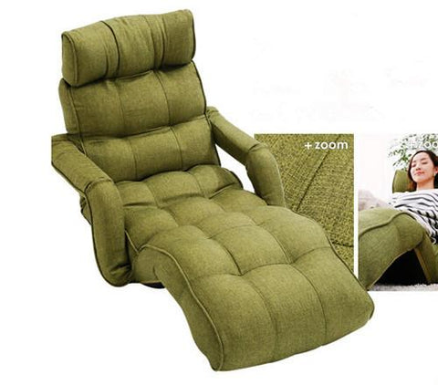 Floor Folding Lounger Chair Color Adjustable Recliner Living Room Furniture Japanese Daybed Sleeper Armchair Sofa Chaise Lounge