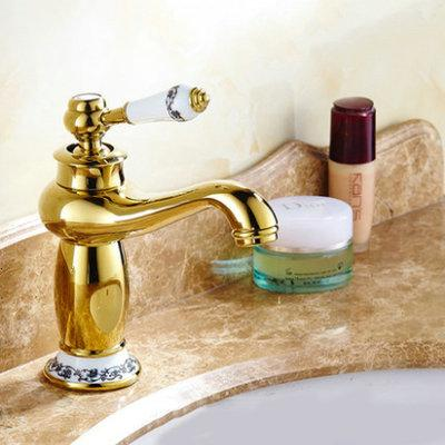 $77.76- shipping Contemporary Antique Brass faucets Bathroom Sink Basin Faucet Mixer water Tap Home Improvement 9031AP