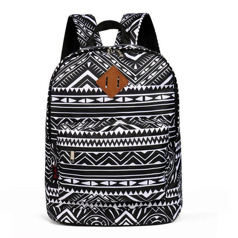 $22.99- Advocator Classic Vintage Printing College School Backpack Retro Generous Simple College Student School Bag For Teenage Girl Boy