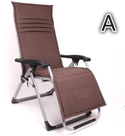 $471.01- Deluxe Ergonomic Chairs Folding Chair Folding Bed Leisure Chair Beach Chair