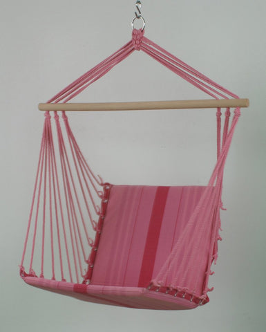Canvas Patio Swings Chromatic Stripe Hanging Chair
