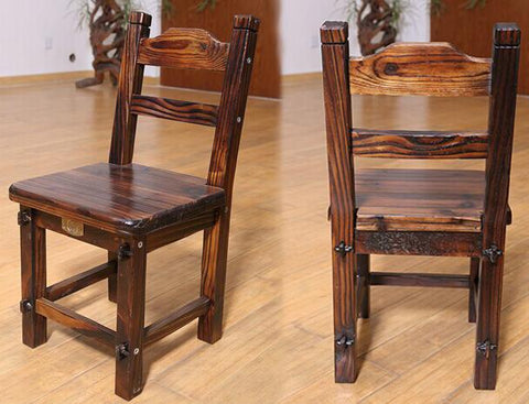 100% Wooden Dinging Chairwood Furnitureantique Garden Style Chairbathroom Chairwaiting For The Chaira