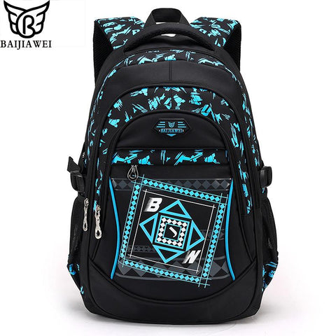 New Arrival Children School Bags High Quality Nylon Backpacks Lighten Burden On Shoulder For Kids Mochila Infantil Zip