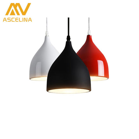 $34.94- Modern Simple Nordic Singlehead Minibar Chandelier Modern Minimalist Dining Room Lamp Restaurant Lighting Kitchen Lamp
