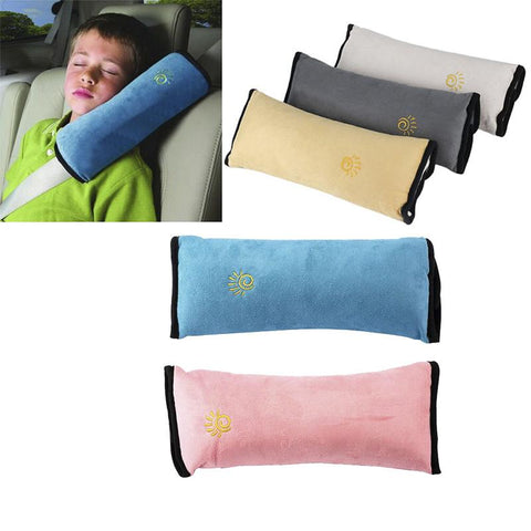New Baby Car Auto Safety Seat Belt Harness Shoulder Pad Cover Children Protection Car Covers Car Cushion Support Car Pillow Gift