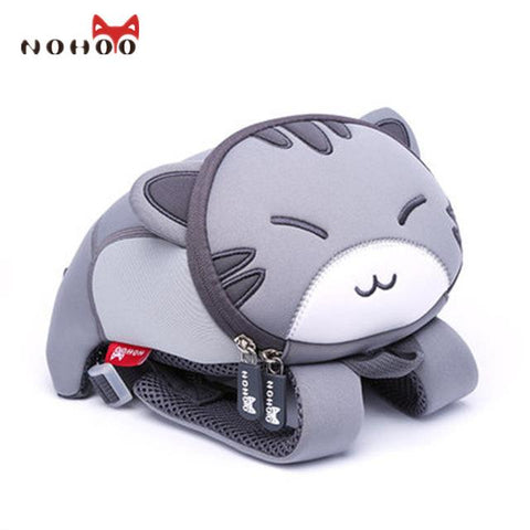 $41.17- Nohoo 3D Animals Printing School Backpacks For Children Waterproof Cartoon Kids School Bags For Girls Mochila Escolar