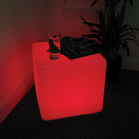 40 Cm Led Night Club Cube For Outdoor Party Led Cube/Led Bar Chair/Led Bar Stool Factory 1Pc