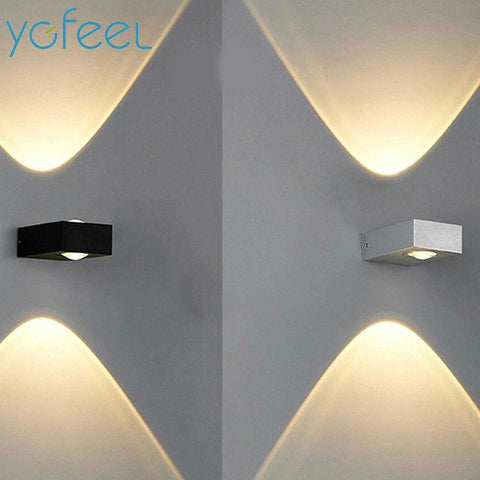 $30.89- [Ygfeel] Wall Lamps Outdoor Waterproof Ip65 6W Led Graden Lamp / Indoor Corridor Staircase Loft Balcony Lighting Ac110V/220V