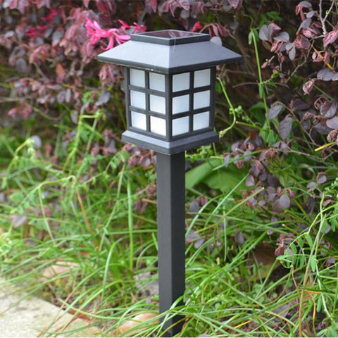 5Pcs/Set High Brightness Square Led Solar Sun Waterproof Lawn Light Garden Light Landscape Garden Path Light Outdoor Lamp
