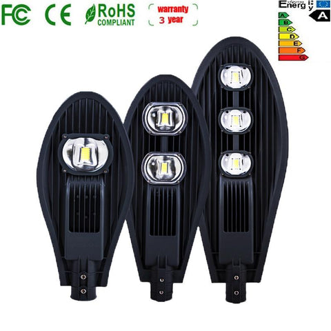 Led Outdoor Street Lights 20W 30W 50W 100W 150W 200W Waterproof High Brightness Power Saving Road Lighting High Way Lamps