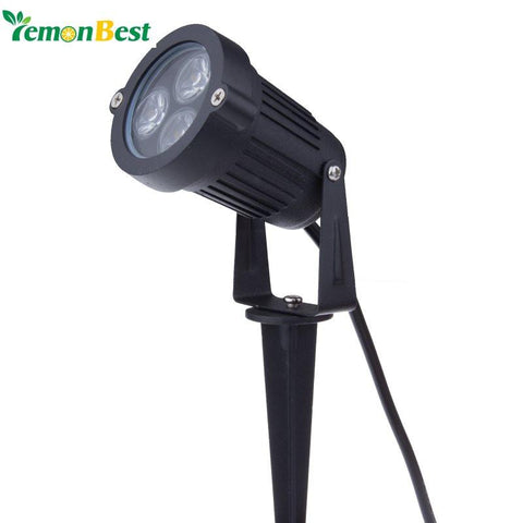 $13.13- 9W Outdoor Garden Light Led Lawn Lamp Waterproof Led Flood Spot Light Warm Cool White W/ Insert Needle Pin Ac85265V