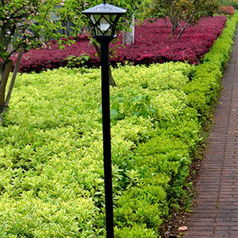 $35.77- Solar Sun Power Led Garden Lamp Outdoor Yard Path Landscape Lawn Waterproof Light Fuli
