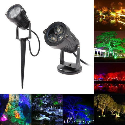 $14.23- Top Quality 9W Led Lawn Light Lamp 12V Outdoor Waterproof Ip65 Lawn Spot Lighting W/ Pin Create A Unique Atmosphere For Party