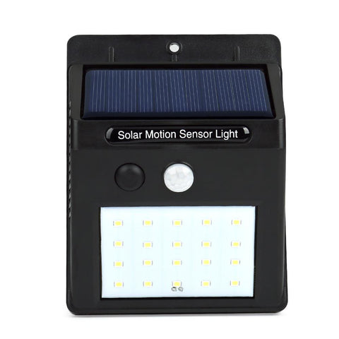 $15.83- Led Solar Sun Power Pir Motion Sensor Wall Light 20 Led Outdoor Waterproof Energy Saving Street Yard Path Home Garden Security Lamp