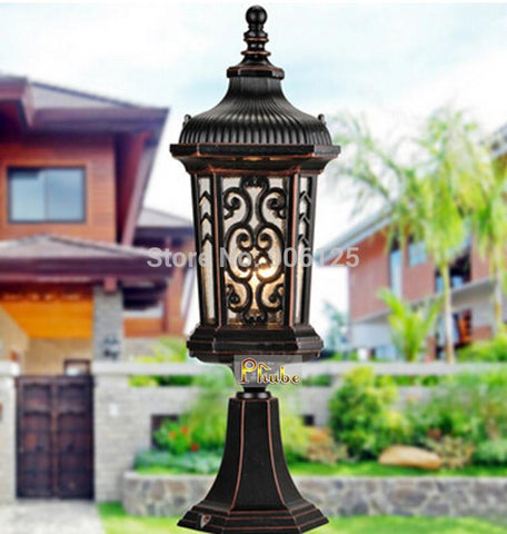 $262.12- European Outdoor Pillar Lamp Used In Courtyard Garden Terrace Width 17.8Cm d 100%