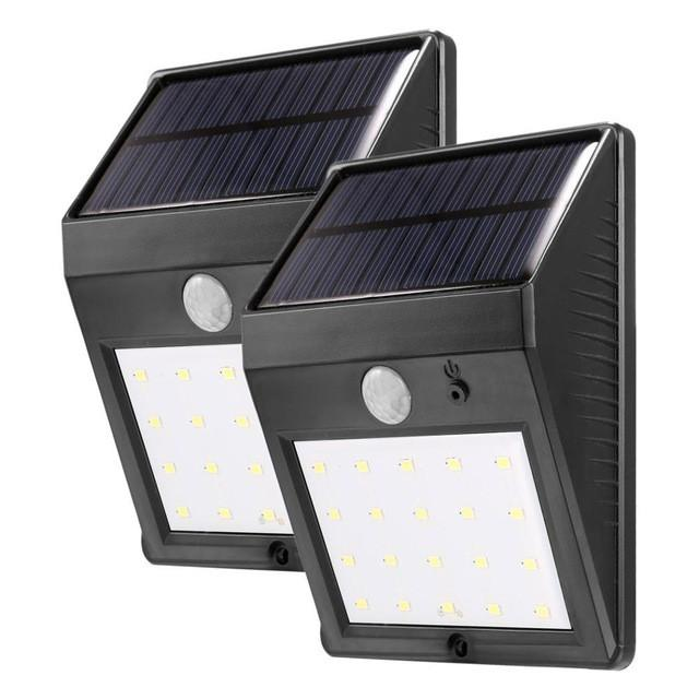$48.11- 20 Led Solar Sun Lamp Motion Sensor Wall Mounted Outdoor Waterproof Garden Lawn Path Security Solar Sun Light &