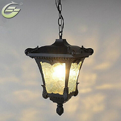 $95.88- Ip65 Waterproof Lamps Outdoor Porch Pendant Light Decration Balcony Pendants Lights Lighting Ysl0126Pl