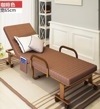 190X65X31Cm Portable Travel Beach Chair Folding Single Bed Office Nap Bed