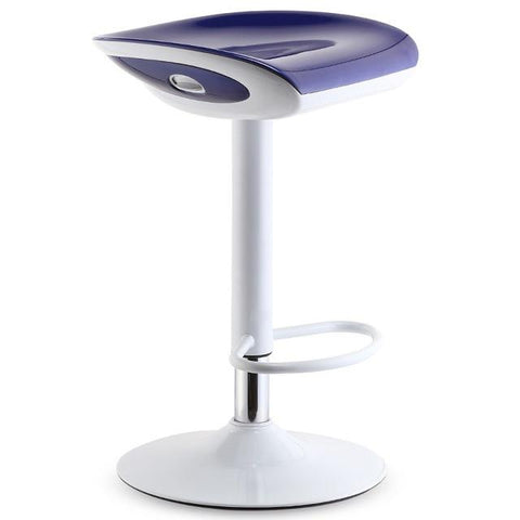 $311.65- Hannover Fair Stool Booth Chair White Black Blue Green Red Wine Color Bar Coffee House Stool Chair