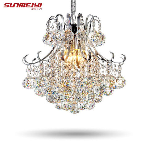 $134.06- Luxury Crystal Chandelier Living Room Lamp Lustres De Cristal Indoor Lights Crystal Pendants For Chandeliers