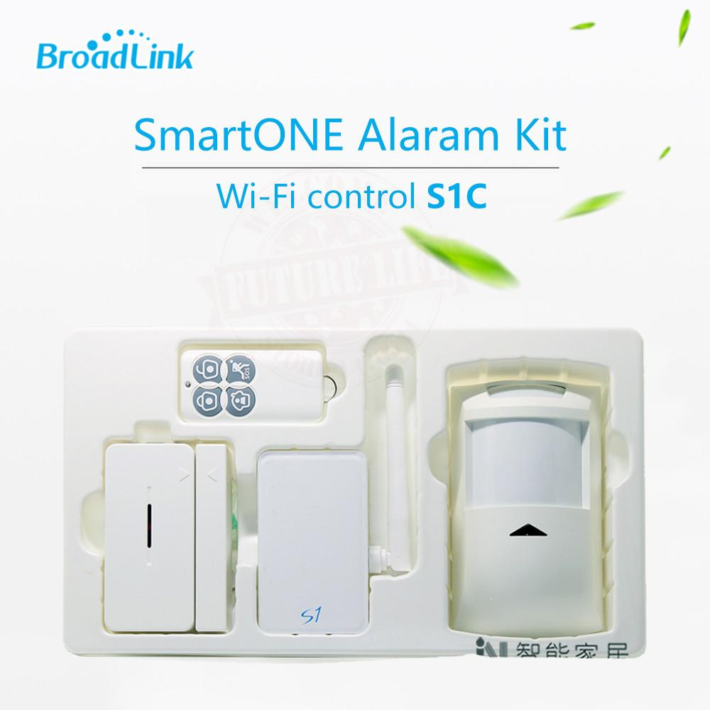 $74.32- Broadlink S1/S1C Alarm Security Smartone Automation Kits For Connected Smart Home Alarm System Ios roid Remote Control