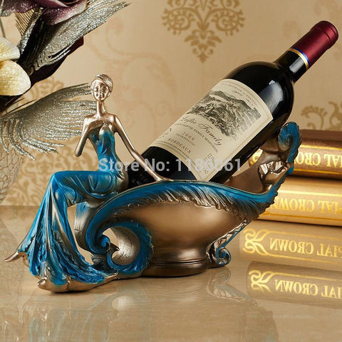 $68.62- Hot Wine Whiskey Rack Home Exotic Kitchen Living Room Bottle Beer Bar Holders