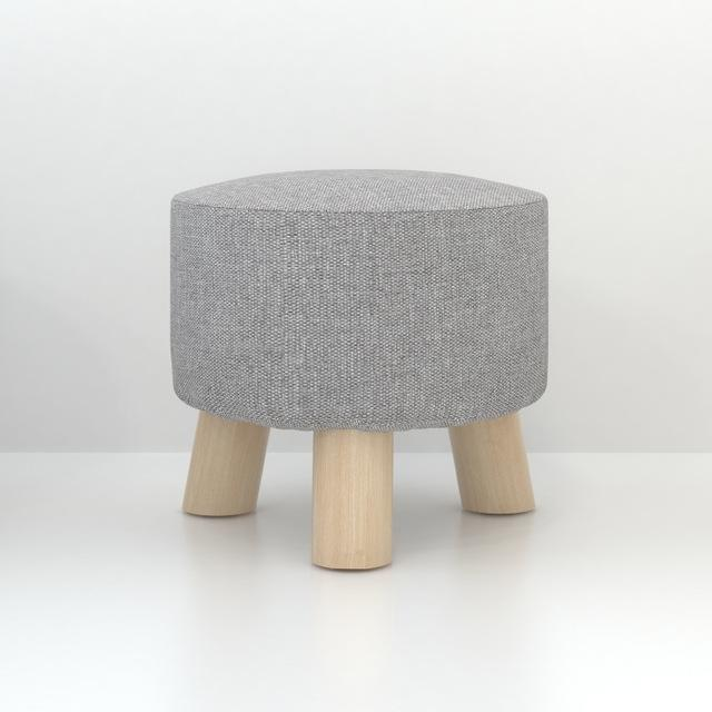 $128.69- Simple Modern Fashion Stool Wood Furniture Home Outdoor Stool Super Soft Lining Fabric Shoes Stool Living Room Footstool Chair