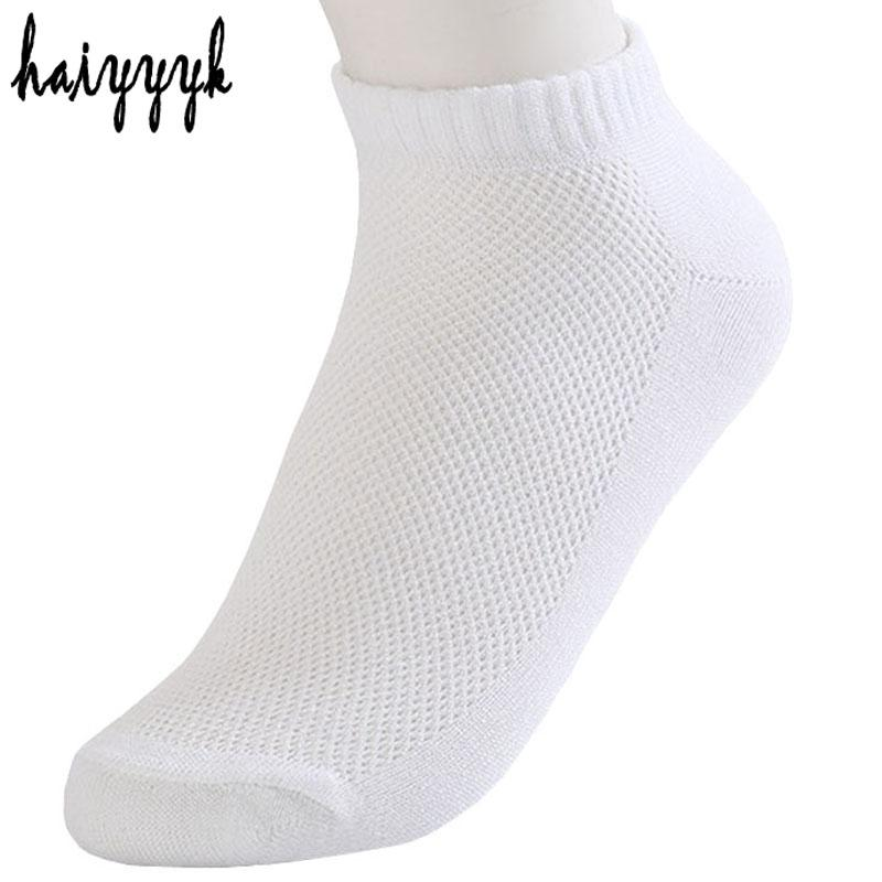 10 Pairs Fashion New Arrival Womens Socks Casual Summer Style Ankle Socks White Socks Mesh Thin Breathable Sock