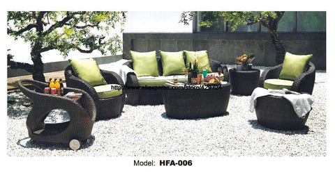 $2478.45- Rattan Garden Sofa Furniture Picnic Dining Car Table Outdoor Healthy Rattan Sofa Multiple Color Balcony Furniture Beach Chair