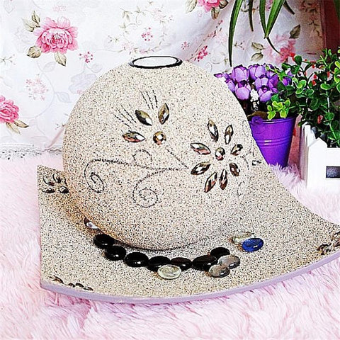 $61.56- Nature Style Candle Holder Moroccan Diy Sand Mtaerial Continental Candle Holders Wedding Home Decoration Candlestick