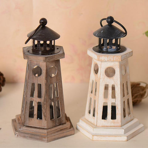 $85.12- Retro Wooden Candlestick Holder Home Decoration Candle Holders Metal Craft Wedding Gifts Table Decoration Candelabrum