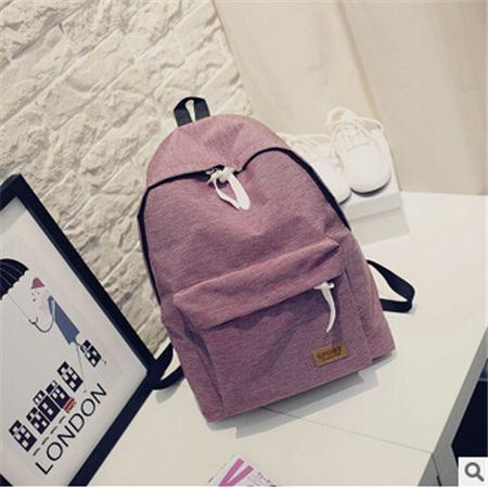 $24.66- Dida Bear Women Canvas Backpacks Ladies Shoulder School Bag Rucksack For Girls Travel Fashion Bag Bolsas Mochilas Sac A Dos