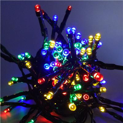 $17.99- Led La Luz Solar Sun Garden String Lights Christmas Solar Sun Lamps Ktv Party Decoration Outdoor Waterproof Street Lighting 10M 60 Led