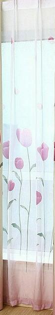 $18.97- Rustic Window Curtains For Living Room/Bedroom Blackout Curtains Window Treatment /Drapes Home Decor Tulip/Leaves/Floral Pattern